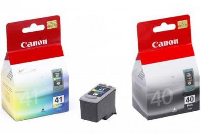 Canon PG-40 Black / CL-41 Color cartridge �ern� a barevn� - Kliknut�m zobraz�te detail obr�zku.