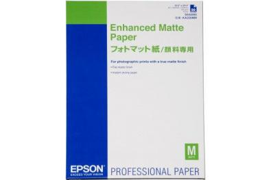 Epson Ink-Jet pap�r A4 Enhanced Matte, 250 list� - Kliknut�m zobraz�te detail obr�zku.