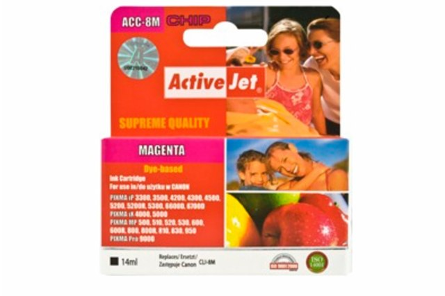 ActiveJet CLI-8 Magenta cartridge růžová