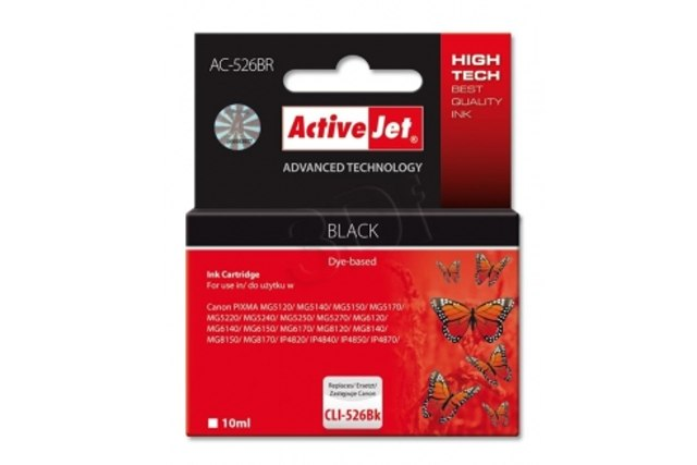 ActiveJet CLI-526 Black (s �ipem)