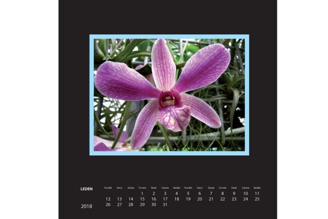 Fotokalendář 2018 černý na fotografie 10x15cm(na výšku),13x18cm (na šířku) - Kliknutím zobrazíte detail obrázku.