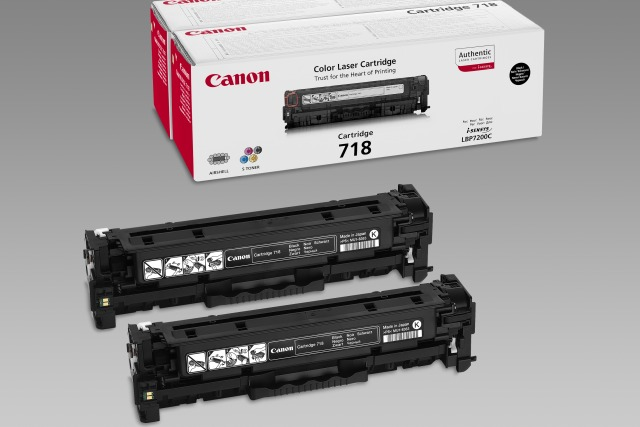 CANON CRG-718 Black Twin Pack