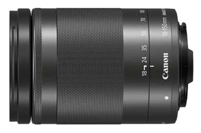CANON EF-M 18-150mm f/3.5-6.3 IS STM Black