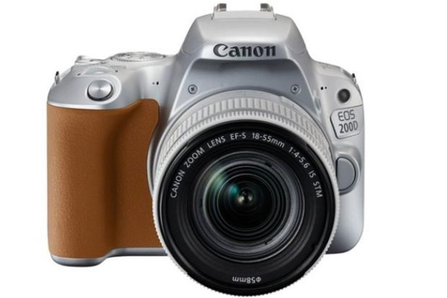 CANON EOS 200D Silver + 18-55 IS STM