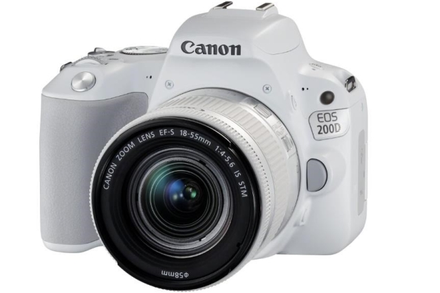 CANON EOS 200D White + 18-55 IS STM