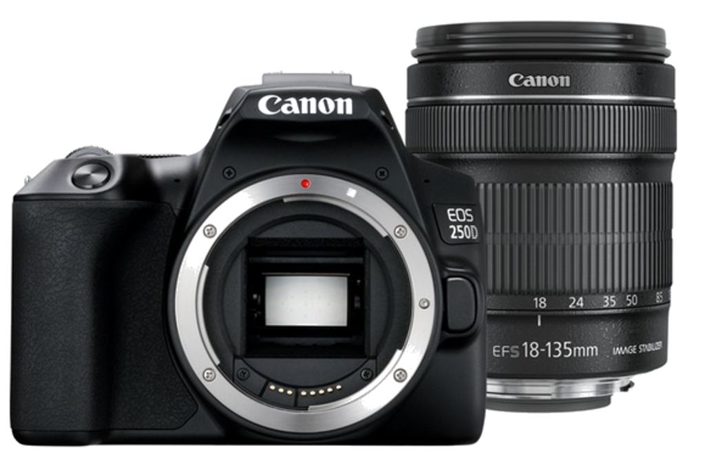 CANON EOS 250D Black + 18-135/3.5-5.6 IS STM Kit
