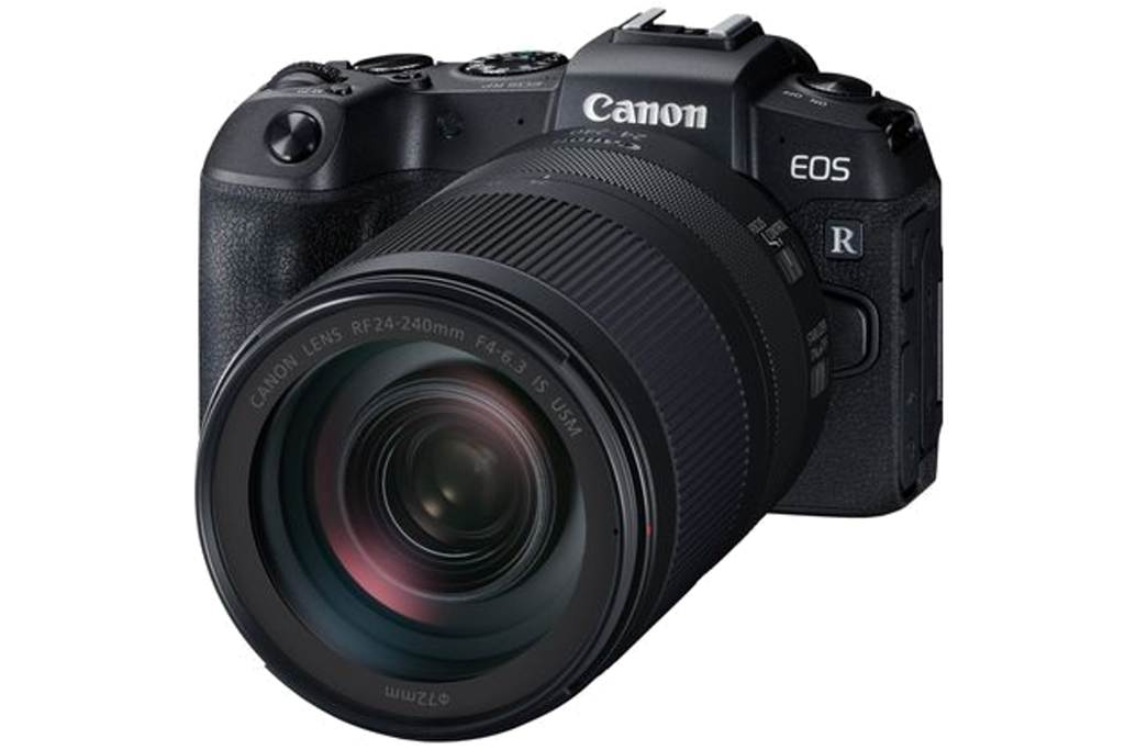 CANON EOS RP + RF 24-240 f / 4-6.3 IS USM