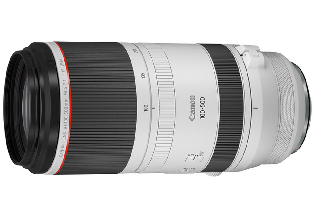 CANON RF 100-500mm f/4.5-7,1 L IS USM
