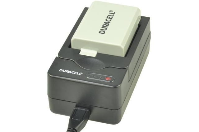 DURACELL Digital Camera Battery Charger for Canon LP-E5, Samsung IA-BP85ST