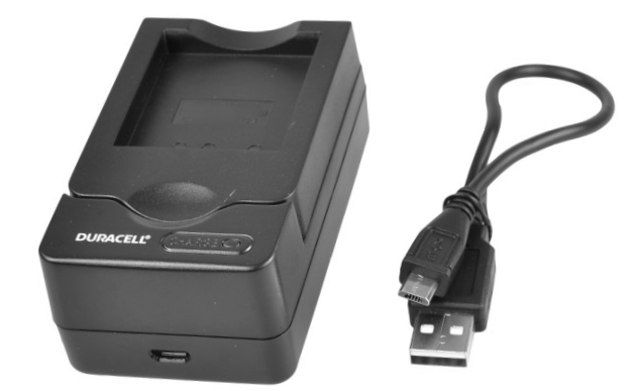 Duracell Digital Camera Battery Charger for Canon LP-E6