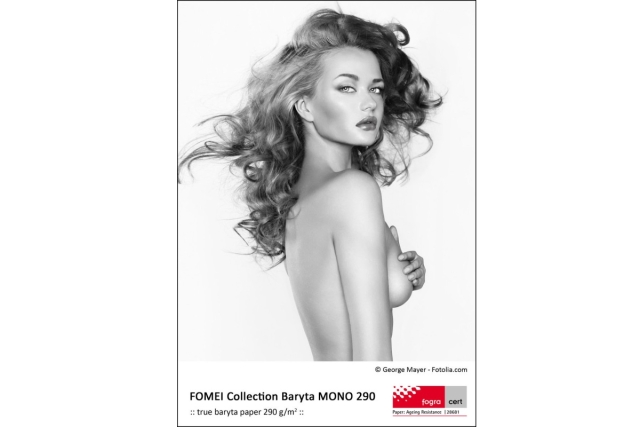 FOMEI A4/25L, Collection Baryta MONO 290