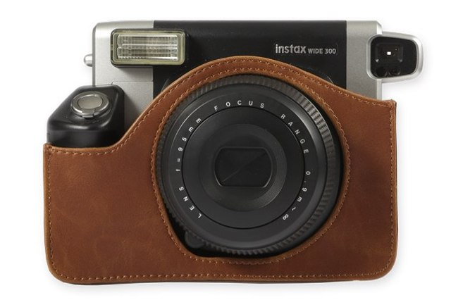 FUJIFILM Instax 300 LEATHER CASE BROWN