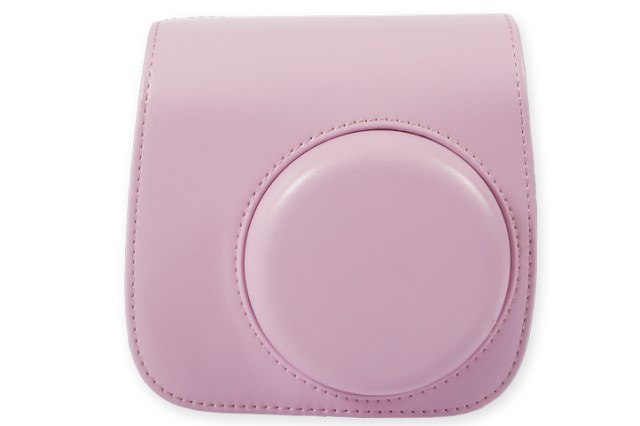 FUJIFILM Instax Mini 8 Leather Case Pink