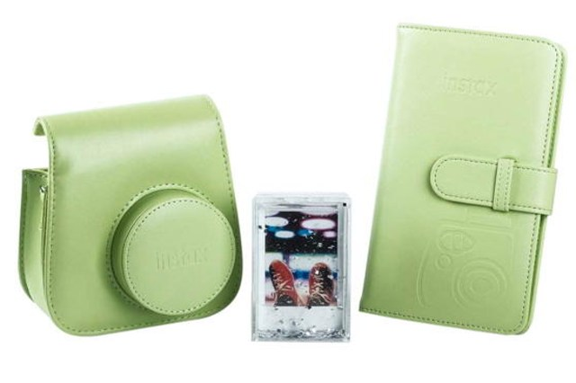 FUJIFILM INSTAX Accessory Bundle Lime Green
