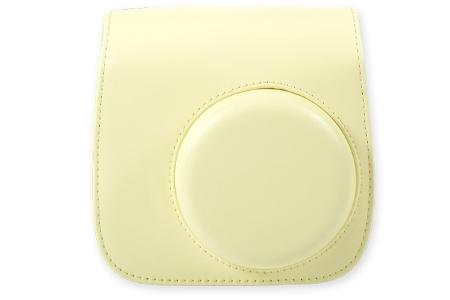 FUJI Instax Mini 8 Leather Case Yellow