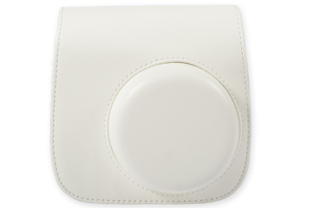 FUJIFILM Instax Mini 8 Leather Case White
