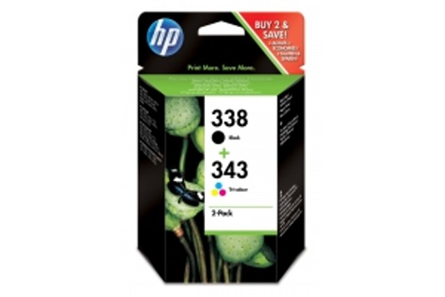 HP náplň 338/343 Cart Combo-pack
