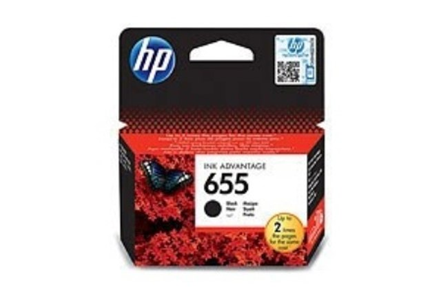 HP cartridge No.655 Black  CZ109AE