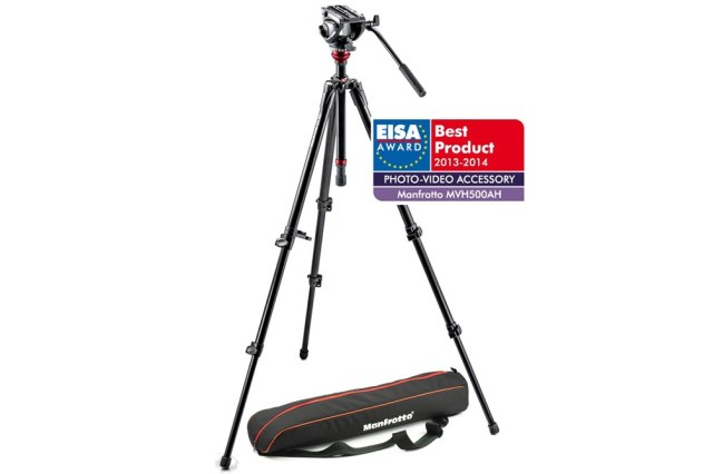 MANFROTTO MVH 500AH,755XBK, VIDEO stativ s hlavou 500AH, SET aluminium