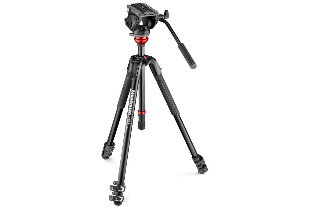 MANFROTTO MVK 500,190X set hliníkový video stativ a video hlava serie 500