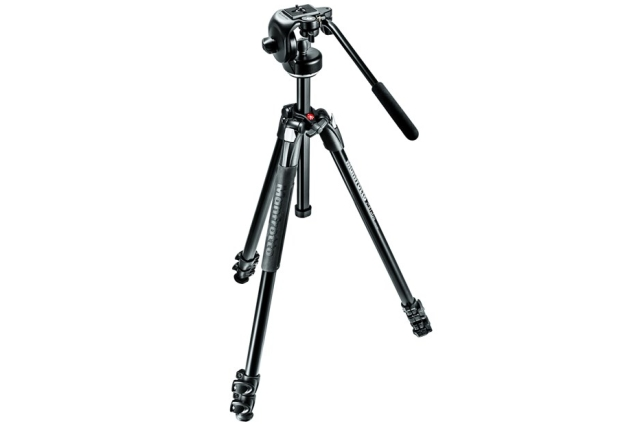 MANFROTTO MK290XTA3-2W, SET stativu 290XTA3 a video hlavy