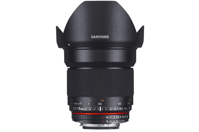 SAMYANG 16MM F2 ED AS UMC Sony E