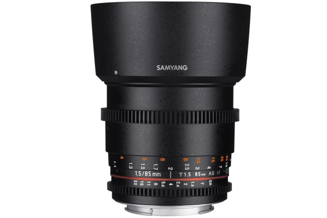SAMYANG 85mm T f/1,5 AS IF UMC Medium Tele Lens VDSLR Nikon