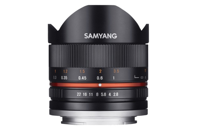 SAMYANG 8mm f/2.8 UMC Fish-Eye SONY E-Mount (SONY NEX)