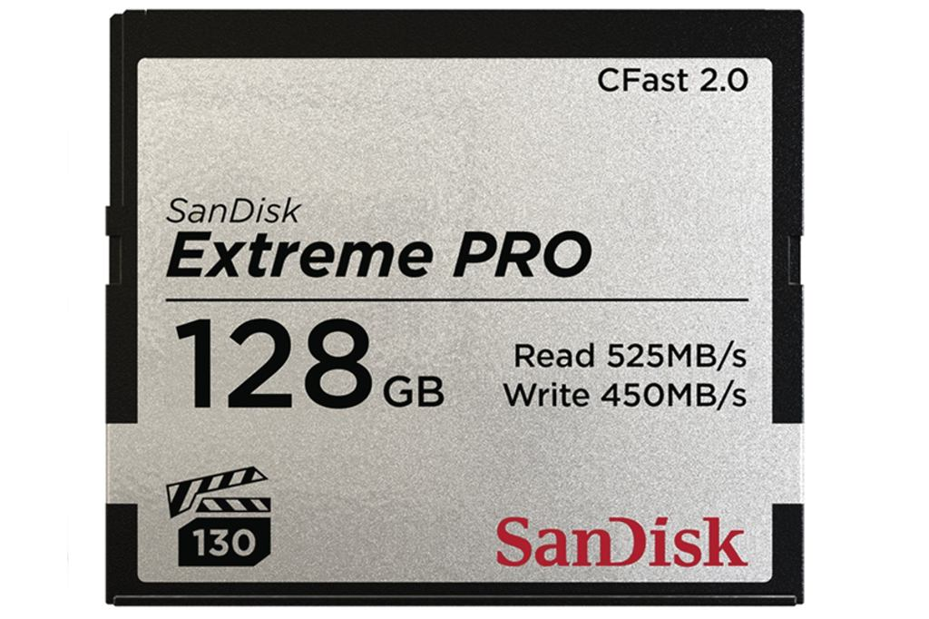 SanDisk Extreme Pro CFAST 2.0 128 GB 525 MB/s VPG130