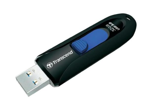 TRANSCEND 32 GB JetFlash 790,USB 3.0 flash disk,černo/modrý