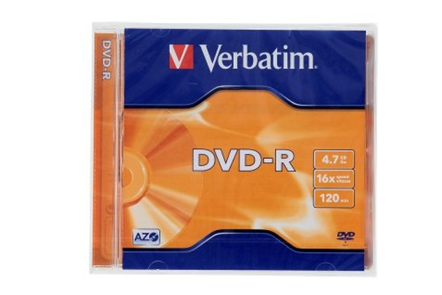 VERBATIM DVD-R Jewel/16x/4,7GB